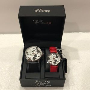 Disney NWT's His & Her Watches